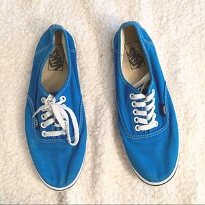 VANS | Classic Low Top Blue Sneakers Size 9.5